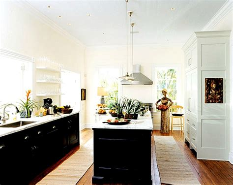 white black lower kitchen cabinets go halfsies in your kitchen with bi colored cabinets 2118