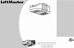 Liftmaster 8355 Owner U0026 39 S Manual