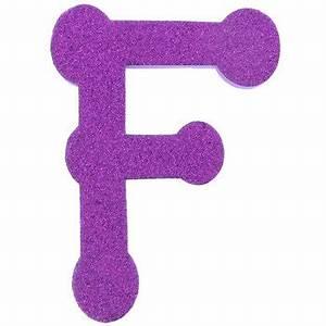F 5quot glitter eva foam letter hobby lobby 765388 for Hobby lobby foam glitter letters