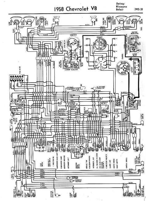 Wiring Diagrams Chevrolet All About