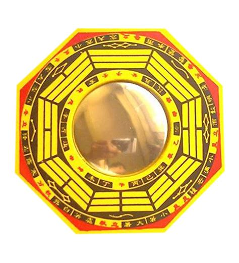 pakua mirror pa kua mirror 12 inch by market finds online feng shui home decor pepperfry product