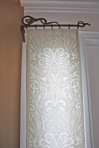 25 best ideas about front door curtains on