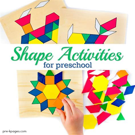 teaching shapes in preschool 747 | How to Teach Shapes to Kids