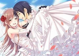 Kirito and Asuna Sword Art online Wallpaper HD | ImageBank.biz