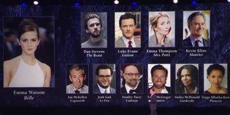 La E La Bestia Cast Disney Al D23 Expo Annunciato Il Cast Di La E La Bestia