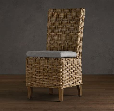 rattan kitchen table and chairs handwoven rattan side chair dining room rattan dining