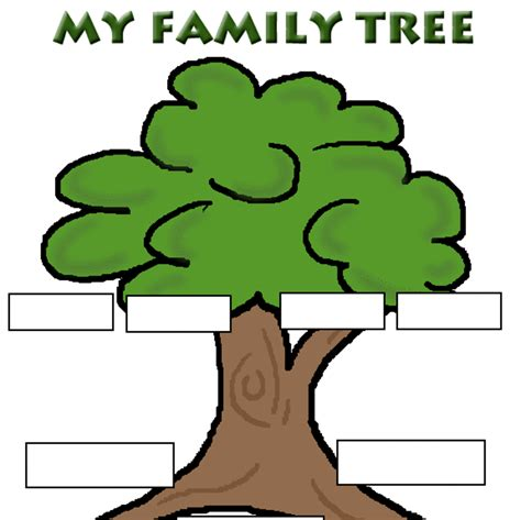 Family Tree Clipart Family History Clipart Clipart Suggest