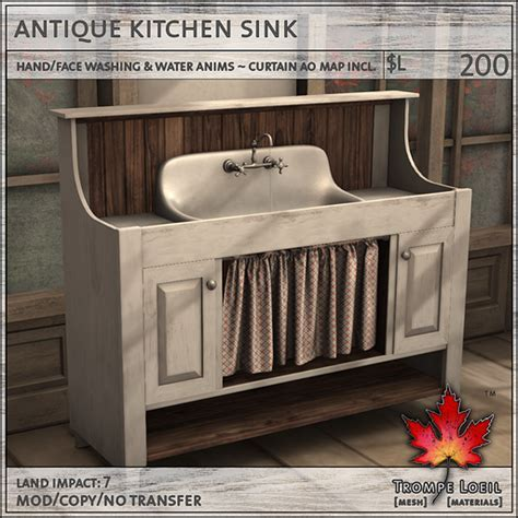 Antique Kitchen Collection for FaMESHed November ? Trompe