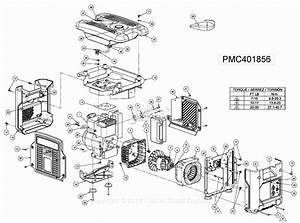 Powermate Formerly Coleman Pmc401856 Parts Diagram For Generator Parts