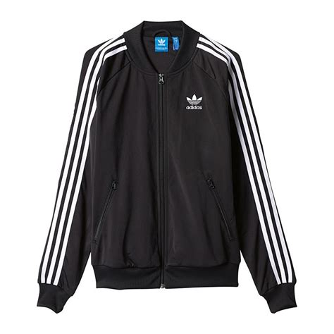 adidas originals sst tt jacke damen schwarz weiss frauen damen jacke jacket