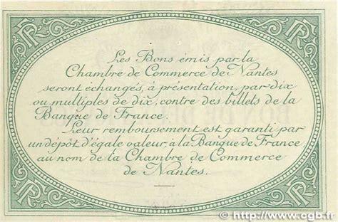 chambre de commerce montlucon veille numismatique archive 100 billets de chambres