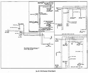 Wiring Diagram For 1954 Chevrolet Passenger Car  59795
