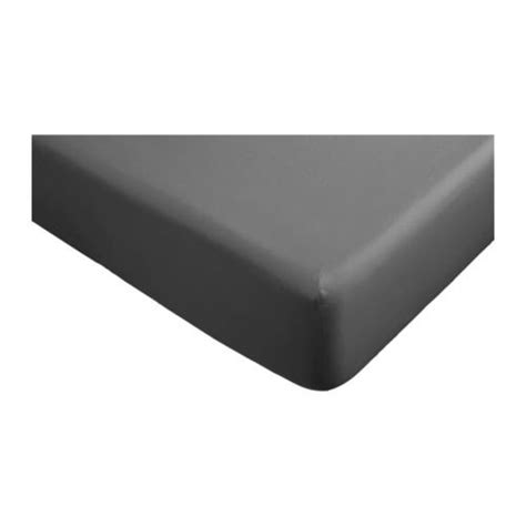 ikea gaspa fitted sheet king gray 100 cotton buy