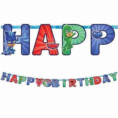 Pj Masks Birthday Banner Party Kit Partycity