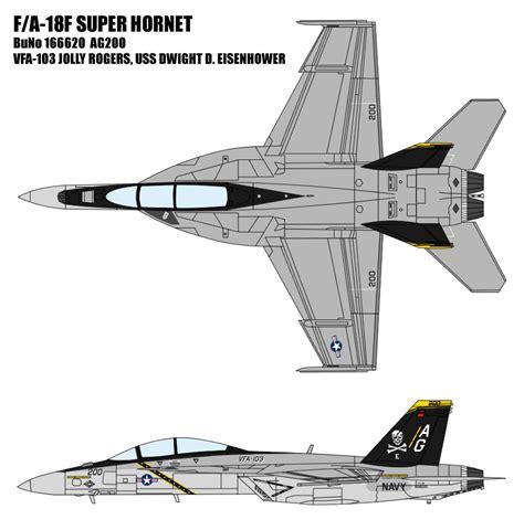 F 18 Super Hornet Drawing