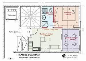 Appartement F2 Définition : plan d 39 un appartement f2 ~ Melissatoandfro.com Idées de Décoration