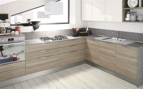 modele cuisine bois moderne cuisine moderne bois clair le bois chez vous