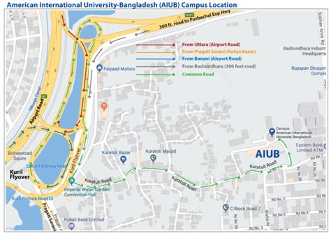 aiub campus american international university bangladesh