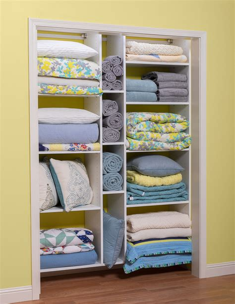 Linen Closet Shelving Systems by Utility Room Storage Closet Cabinets Organizers Direct