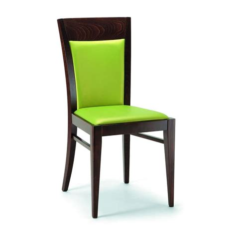 modern padded wooden chair for living and dining room