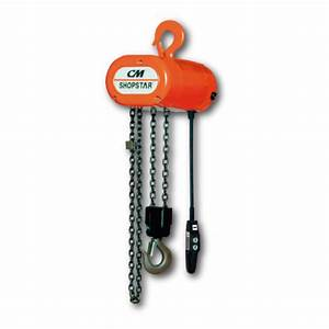Cm Shopstar Electric Chain Hoist - 500lb