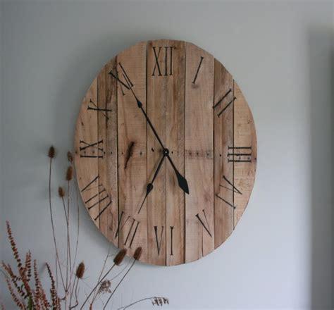 pallets  wooden wall clocks pallet ideas