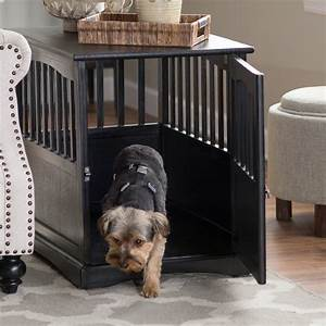 Dog crate end tables new dog owners for Best dog kennels to buy