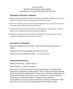 free resume templates for auto mechanic mechanic resume template 6 free word pdf document downloads free premium templates