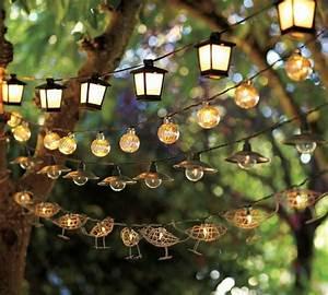 Guirlande Lumineuse Jardin : beaucoup d 39 id es d co avec la guirlande lumineuse boule ~ Melissatoandfro.com Idées de Décoration