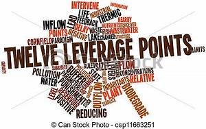 Stock Illustrations of Twelve leverage points - Abstract ...