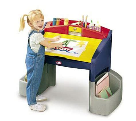 little tikes hideaway art desk qvc com