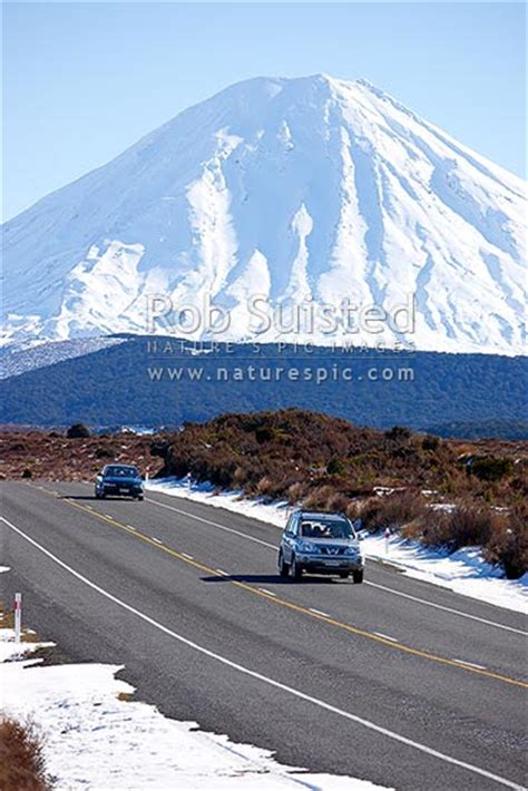 desert road state highway   winter snow mount