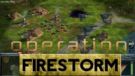 conquer command zero hour generals mod firestorm operation
