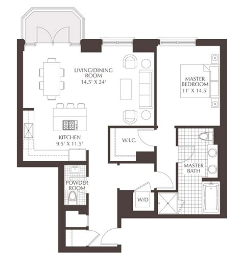 luxury condo floor plans unit    bedroom  bath
