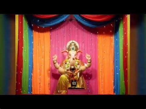 easy ganesh decoration ideas  homeganesh chaturthi