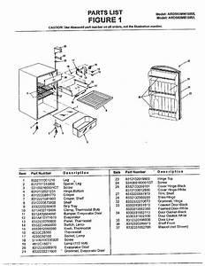 Sanyo Model Ard560mw10r  L Under Counter Refrigerator