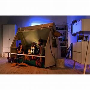 Lit Tipi Enfant : tente pour tipi cabane enfant pour lit 90x200 spot de la marque vox ~ Teatrodelosmanantiales.com Idées de Décoration