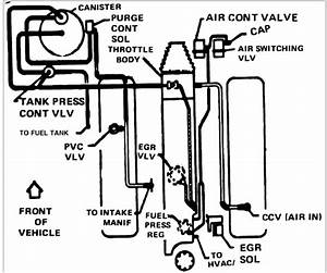 I Am In The Need Of The Engine Compartment Vacuum Line S