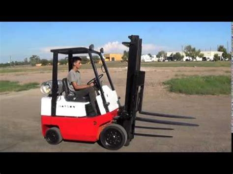 Datsun Forklift by Datsun Cpf02 Nissan Powered 4000lb Capacity Forklift