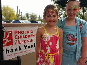 Phoenix Children's Hospital face | Candy Face Painting
