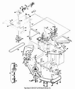 Gravely 38070 50 U0026quot  Deck Pm Gear Parts Diagram For Mower