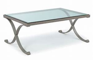 furniture chrome and glass coffee table design ideas With rectangle coffee table with glass top