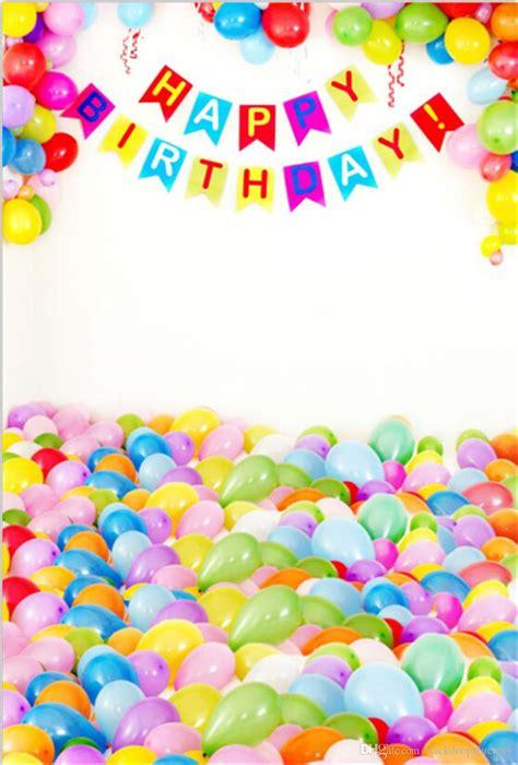ful balloons happy birthday photography backdrops vinyl