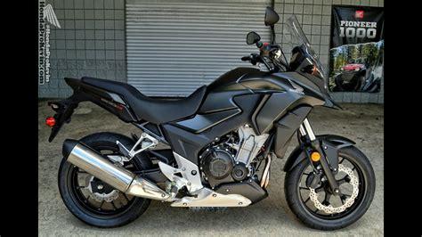 Review Honda Cb500x by 2016 Honda Cb500x Adventure Motorcycle Walk Around