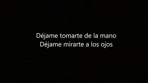 Te Regalo Lyrics