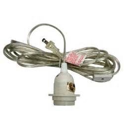 single socket pendant light cord kit for lanterns 11ft ul listed clear on sale now patio