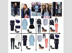 15 Item Capsule Wardrobe Style Icon Kate Middleton