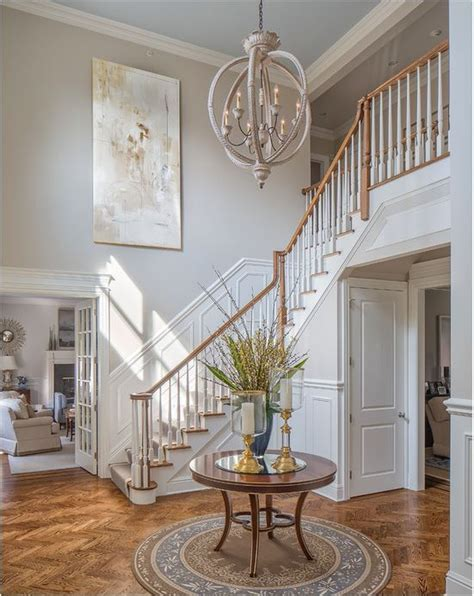 foyer chandeliers for two story homes centsational style