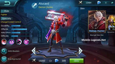 hero alpha patch notes   mobile legends