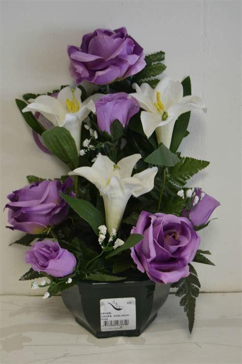 pot de fleurs artificielles pas cher 224 partir de 10 sur www desfleursdescadeaux au fil
